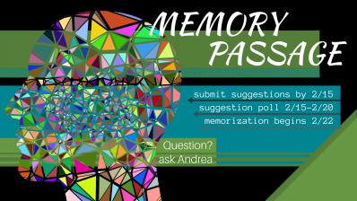 Memory Passage (1)